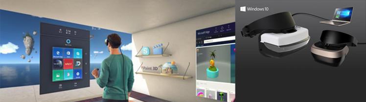 Microsoft\'s $300 Windows VR headsets